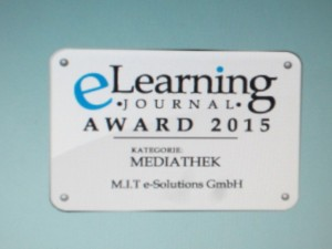 eLearning Journal Award 2015