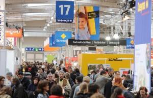 """Mit fünf Hallen für fünf Bereiche wird die didacta 2015 in Hannover zur Plattform für alle Aspekte der Bildung. """"obs/Deutsche Messe AG Hannover"""""""