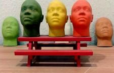 Köpfe mit 3D-Druck gefertigt, Autor: S zillayali
