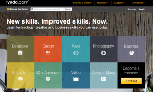 lynda.com screenshot