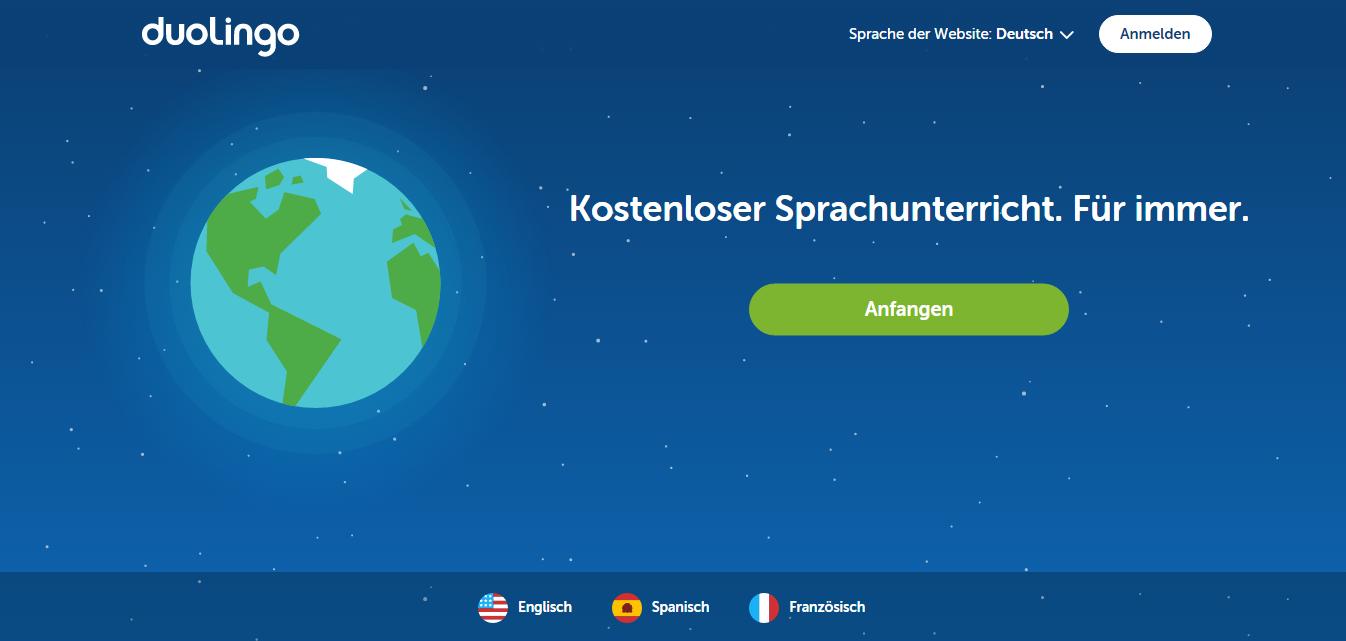 Eine Sprache lernen mit…Duolingo (4/8)