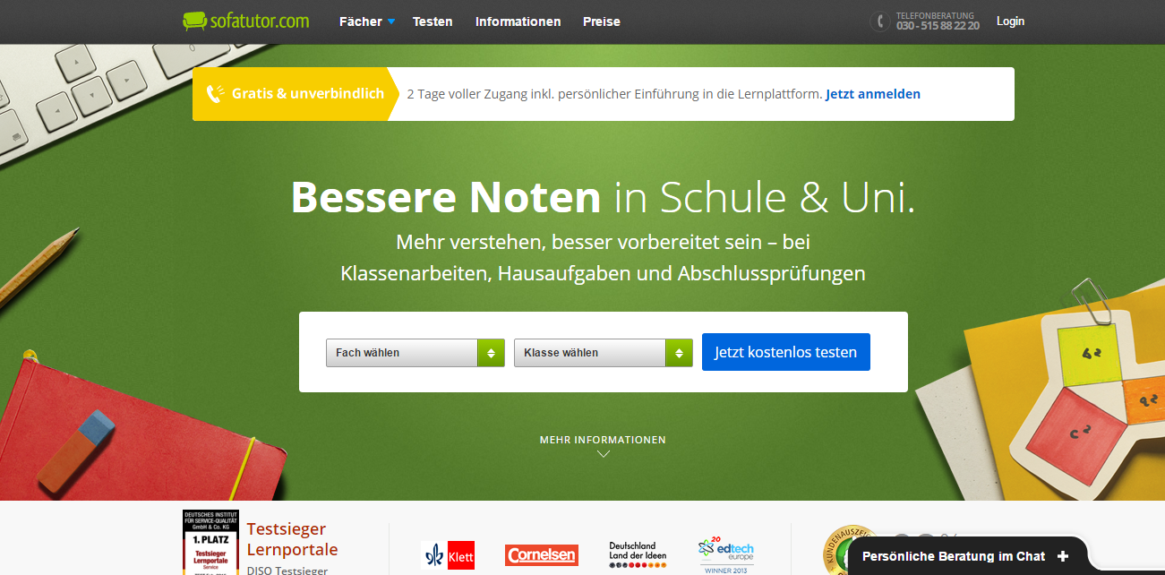 Nachhilfe auf Knopfdruck: Lernportale für Kinder (7/8) - gehirnonline.de