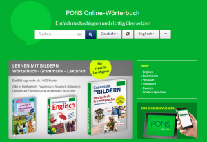 Pons, Quelle: Screenshot Webseite